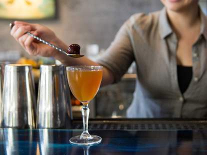 Teardrop Lounge cocktail in Portland