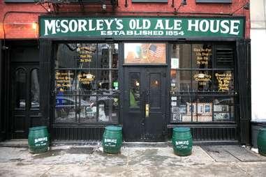 McSorley's Irish Pub in NYC