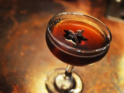 The Pope House Bourbon Lounge Ironwood cocktail