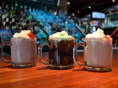 Cask 'n Flagon, cocktails, hot cocktails