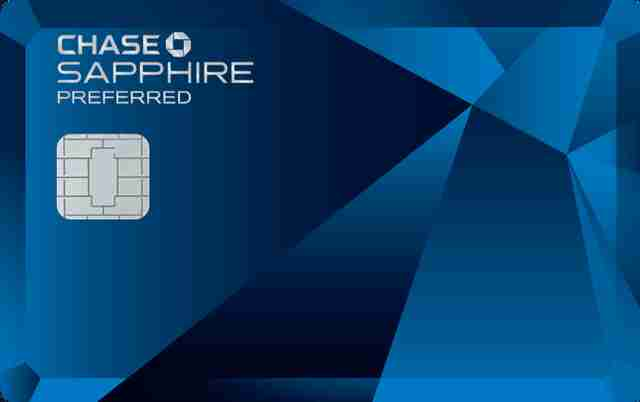 Chase Sapphire Preferred travel card