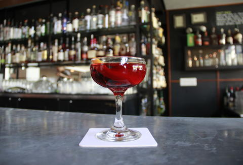 Clyde Commons' Barrel Aged Negroni