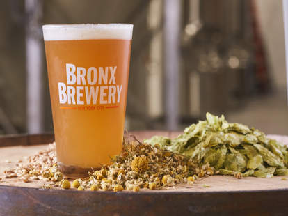 Bronx Brewery, Spring Pale Ale with Tea