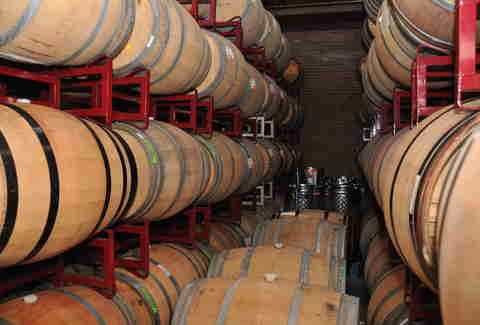 Urban Legend Cellars barrels