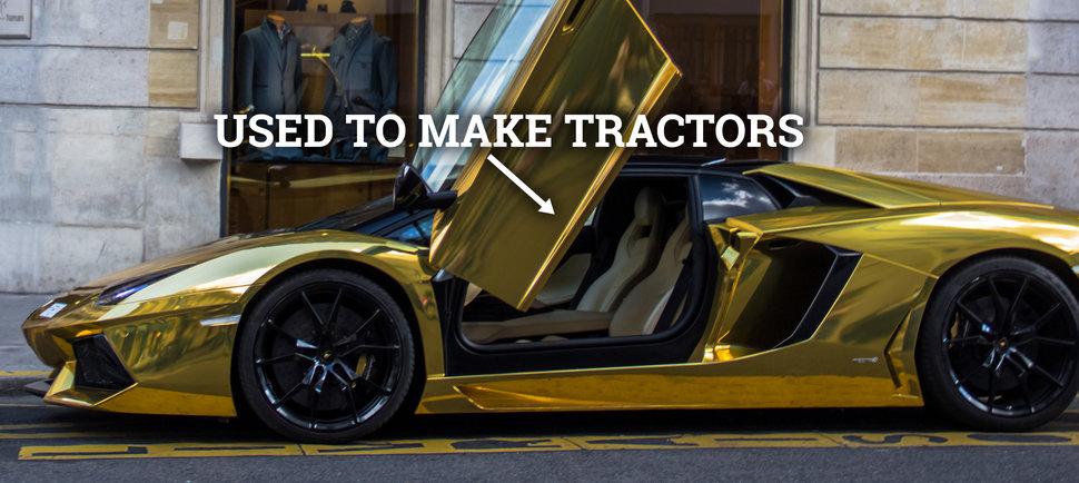 car brands that didn 39 t start out making cars jaguar lamborghini toyota. Black Bedroom Furniture Sets. Home Design Ideas
