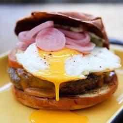 Estrella Sunset burger Los Angeles