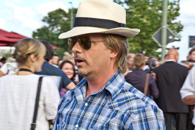 David Spade with hat