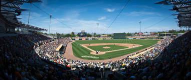 Hohokam Stadium, Oakland Athletics