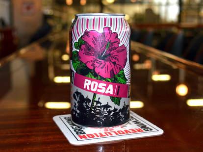 rosa hibiscus beer
