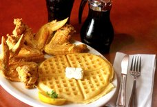 Gladys Knight & Ron Winans Chicken and Waffles