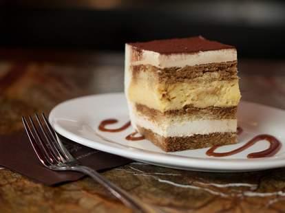 Dilettante Mocha Café & Chocolate Martini Bar tiramisu cake