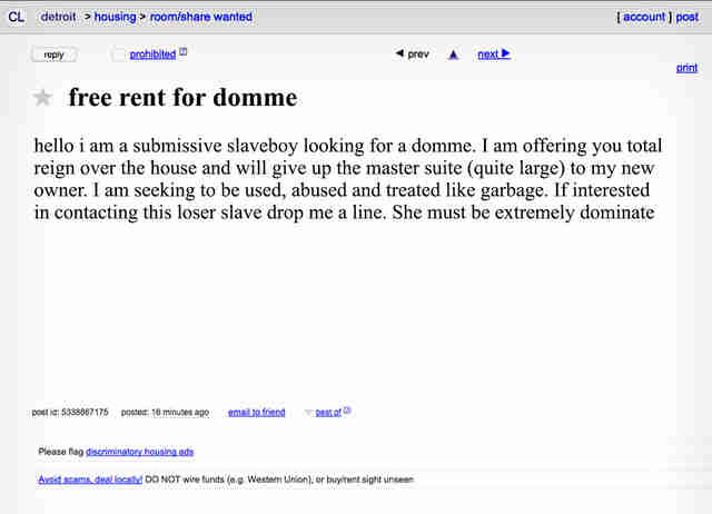 Free local fucks craigslist  nsw Melbourne