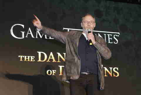 Liam Cunningham hosting New York City's 'Game of Thrones' event
