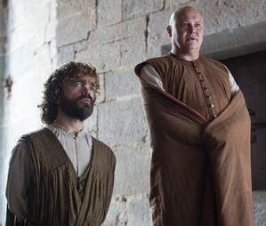 Tyrion and Varys HBO Game of Thrones