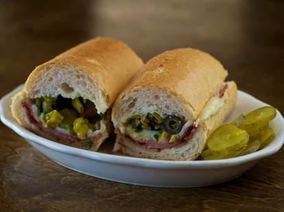 Madina's Restaurants, Louisiana sandwiches