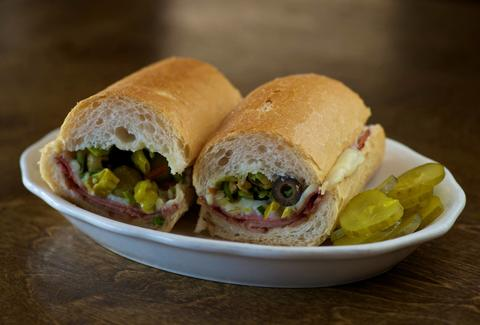 Madina's Restaurants, Louisiana sandwiches