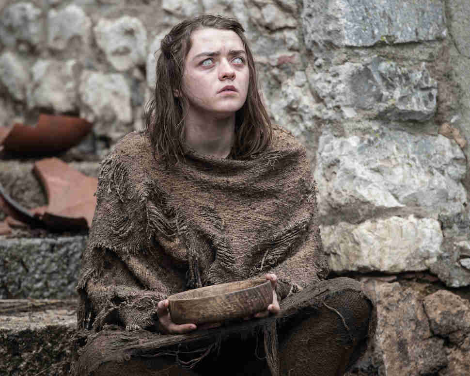 Arya Stark HBO Game of Thrones