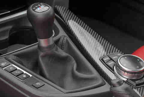The six speed manual in a BMW M4
