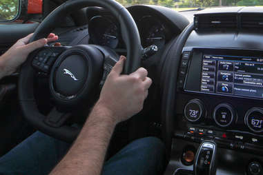 Jaguar F-Type with the ZF 8hp Automatic transmission