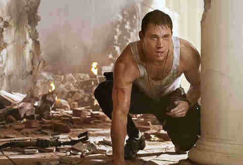channing tatum in white house down movie