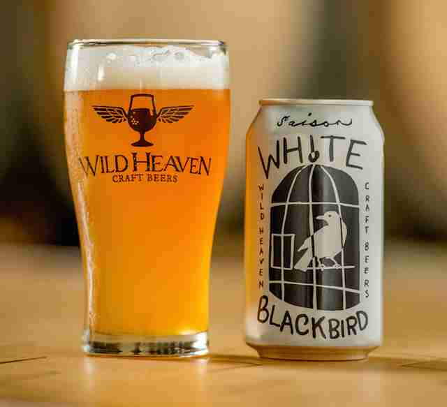 Wild Heaven White Blackbird beer