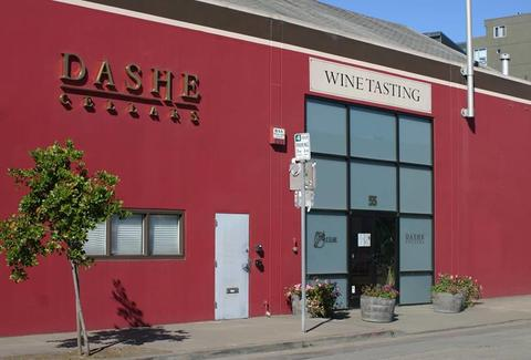Exterior of Dashe Cellars