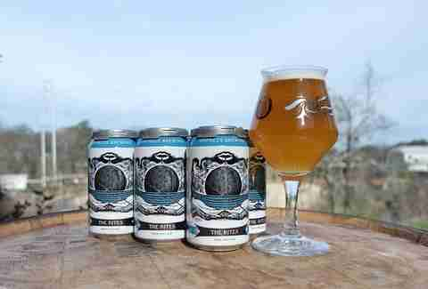 Rites cans from Orpheus Brewing