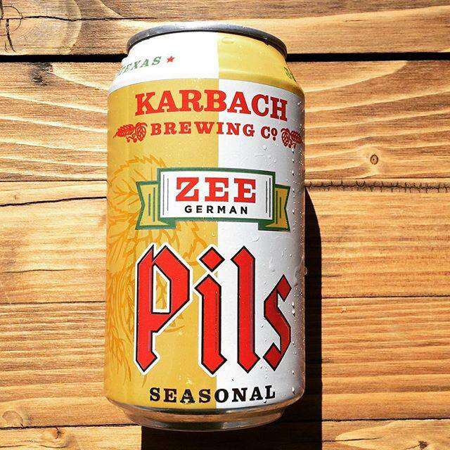 Karbach Brewing Co., Zee German Pils
