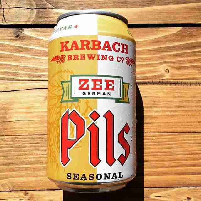 Karbach Brewing Co., Zee German Pils