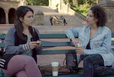 Broad City Abbi Jacobson Ilana Glazer Bethesda Terrace Central Park