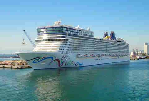 Norwegian Lines  Epic cruise ship