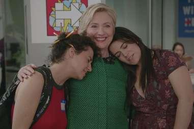 Broad City Abbi Jacobson Ilana Glazer Hillary Clinton