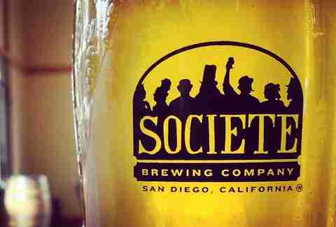 Societe Brewing Co beer