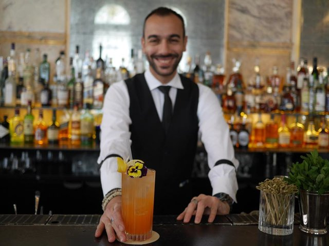 bartender at the punch room