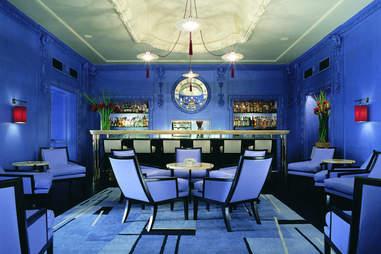 blue bar at the berkeley in london