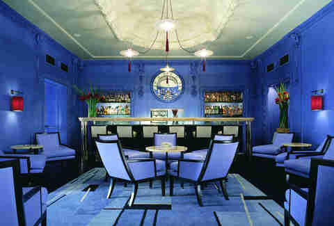 blue bar at the berkeley in london