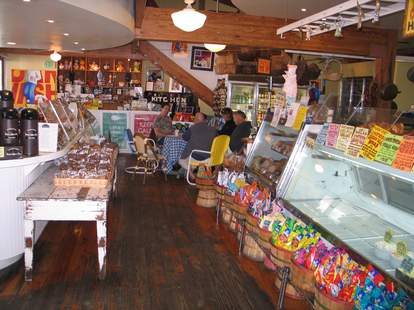 Malibu Kitchen & Gourmet Country Market interior