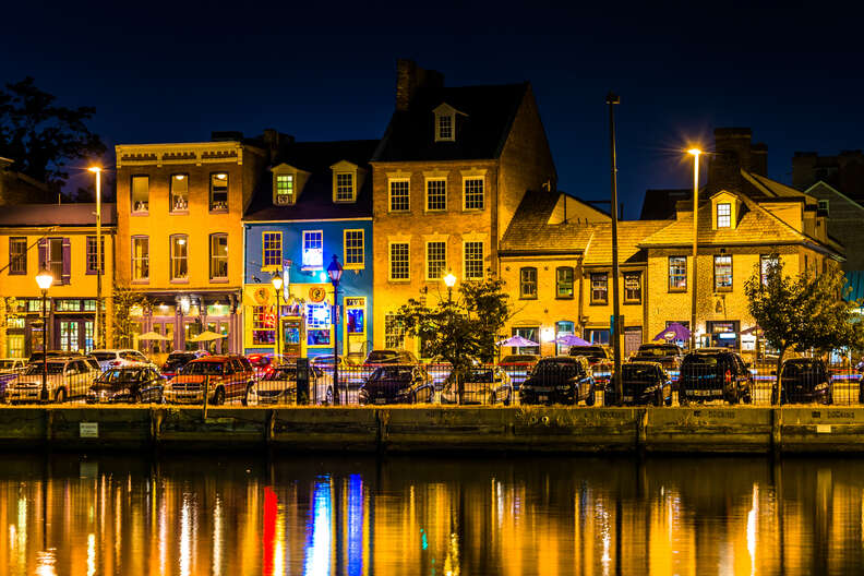 Fell's Point, Baltimore, Maryland