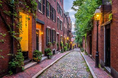Acorn Street, Beacon Hill, Historic Boston