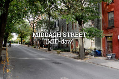 Middagh Street, New York City Street