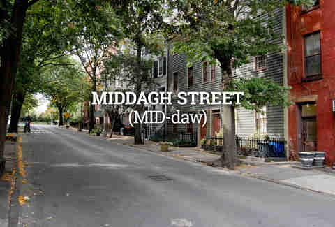 Middagh Street, New York City Street