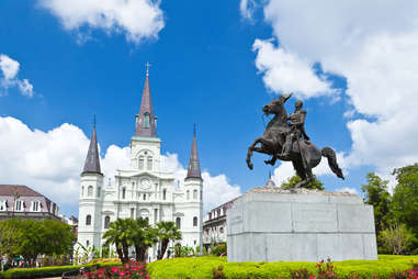 Saint Louis Cathedral, French Quarter, Louisiana