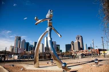 public art sculpture dallas texas