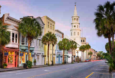 Charleston South Carolina, Charleston Historic District