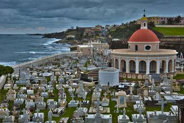 Old San Juan, Puerto Rico, Cementario Santa Maria Magdakena de Pazzis