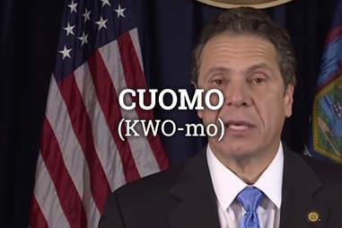 Governor Cuomo, New York City Governor