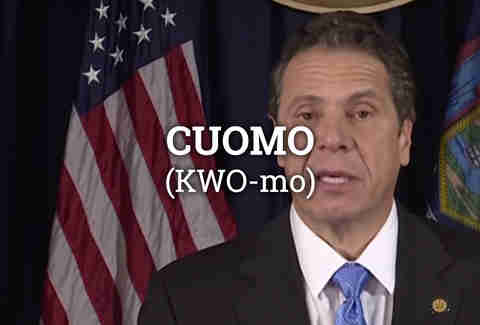 Governor Cuomo, New York City Governor