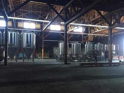Inside Brouwerij West