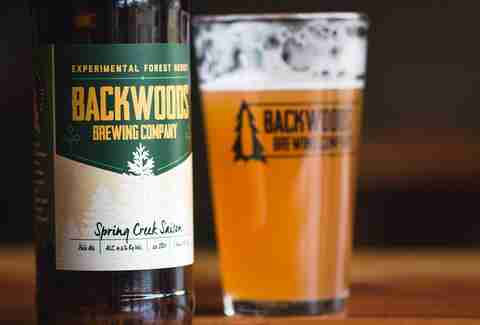 Backwoods Brewing Company, Spring Creek Saison