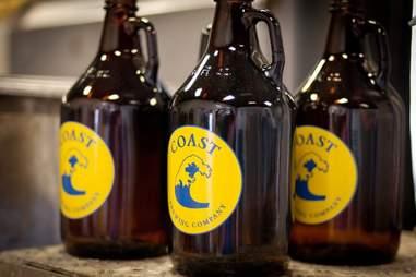 coast brewing company charleston growlers